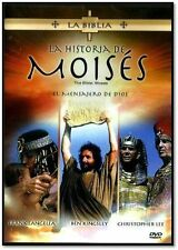 La Biblia : La Historia de Moises (The Bible: Moses, Spanish DVD Region 1) NEW