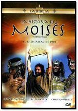 La Biblia : La Historia de Moises (The Bible: Moses, Spanish DVD Region 1) NEW