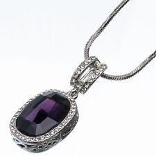 17.90ct corte ovalado estilo forma Amatista violeta Circonita Cúbica 18ct