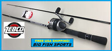 ZEBCO 33 SPINCAST 6' Fishing Combo Rod and Reel NEW! #33602M FREE USA SHIPPING!