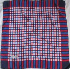 Magnifique Foulard YVES SAINT LAURENT 100% soie  BEG vintage scarf 86 X 87 cm /