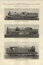 1921 Sudan Railways South African Articulated Indian Peninsular Tank Locomotives