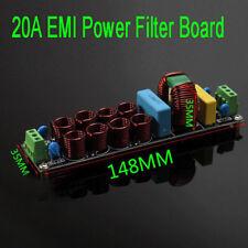 4400 W 20 A EMI filtre d'alimentation Purificateur Board bruit Suppresseur AC 110 V 220 V (S180)