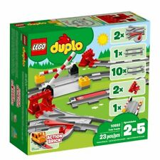 Lego 10882 DUPLO Town Train Tracks Building Set New With Sealed Box