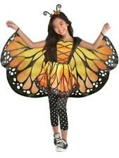 Childs Monarch Butterfly Fancy Dress Animal Costume Fairy Princess Girls Kids