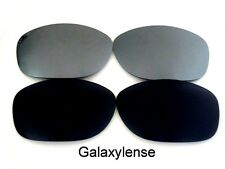Galaxy Replacement Lenses For Oakley Pit Bull Black&Titanium Polarized 2Pairs