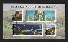 GB Stamps 2008 'Celebrating Northern Ireland' sg MSNI152 - Fine used