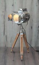 Teak Flaps Studio Design - Industrial Tripod Floor Lamp Emporia Decors Home Deco