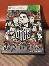 Sleeping Dogs (Microsoft Xbox 360, 2012) Game