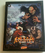 Wandering Heroes of Ogre Gate-Rare Playbook with 180 Kung Fu techniques and more