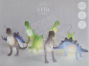 8 Dinosaur LED String Lights Dino Indoor Children Kids Bedroom Decor Jurassic