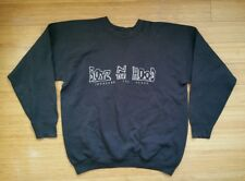 Vtg 90s BOYZ N THE HOOD Increase Peace Black Sweatshirt Hip Hop Rap Phys Ed ORIG