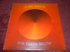 Robin Trower For Earth Below Chrysalis UK Orig.1975 1st Press Top Copy/Archive!