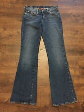 Womens LUCKY BRAND Distressed Sweet N Low Blue Jeans Size 6/28, GREAT CONDITION!