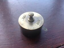 OLD BRASS WEIGHT 100 GRM