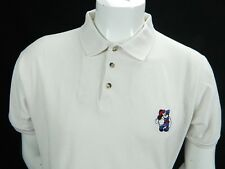 Vintage Disney Wear Mens Large Polo Golf Shirt Mickey Mouse Cotton MADE IN USA