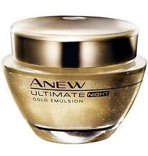 Avon- Anew- Ultimate- Gold Emulsion Night Treatment 50ml New no box