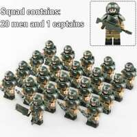 21pcs United World War Army Special Military Knight Soldier Lego Minifigures