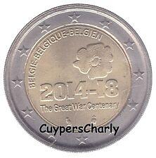 Belgie 2014 2€ 100j WO I  14-18 UNC