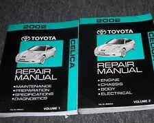 2002 TOYOA CELICA Service Shop Repair Workshop Manual Set OEM FACTORY