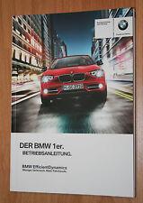 BMW 1er  Betriebsanleitung Bedienungsanleitung 10 2012