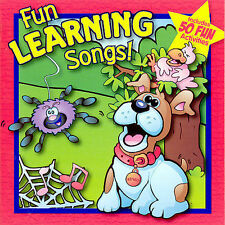 Fun Learning Songs Music CD W LYRICS AND 50 FUN ACTIVITIES