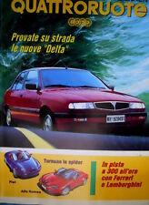 Quattroruote 450 1993 In pista con Ferrari e Lamborghini.Tornano le Spider Q102]