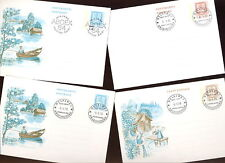 FINLAND 1978-90 POSTAL STATIONERY SPECIALS FU x10 Cards