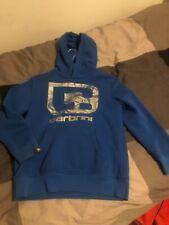 Boys blue carbrini hooded sweatshirt ( age 12-13)