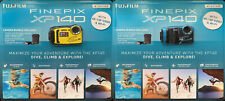 Fujifilm FinePix XP140 Waterproof Camera Bundle Blue or Yellow