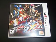 Replacement Case (NO GAME) PROJECT X ZONE Nintendo 3DS - 100% Original Box