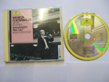 FURTWÄNGLER/BEETHOVEN Symphonien Nos. 5 & 7 1989 EU CD REMASTERED – BARGAIN!