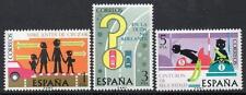 SPAIN MNH 1976 SG2357/59 Traffic Safety