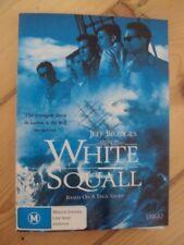 WHITE SQUALL –------- DVD, JEFF BRIDGES, SCOTT WOLF, RYAN PHILLIPE, RIDLEY SCOTT