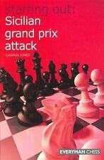 Starting Out: Sicilian Grand Prix Attack  by Gawain Jones   Paperback 2008