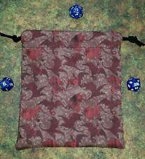 Game of Thrones Targaryen Dragons dice bag, card bag, makeup bag