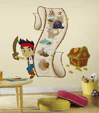RoomMates Jake and the Never Land Pirate Wall Stickers Height Chart Wall Decals