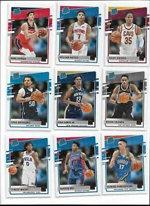 2020/21 Panini Donruss Basketball Rated Rookie Pick Your Player Complete Set