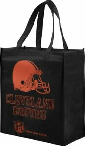 CLEVELAND BROWNS REUSABLE SHOPPING BAGS LOT OF 5