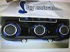 VW GOLF 6 Passat CC Clima frontale CLIMATRONIC BLU BIANCO ROSSO LED 3c8907336ab