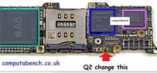 csd75202w15 for iphone5 5g q2 charging usb ic 9pin csd75202w15
