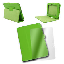 """CASE COVER+SCREEN PROTECTOR SLIM POUCH PU LEATHER GREEN AMAZON KINDLE FIRE HD 7"""""""