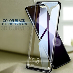 For Samsung Galaxy S21 S20 S9 S10 3D Curved Tempered Glass Film Screen Protector