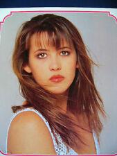 1991 Sophie Marceau Japan VINTAGE calendar POSTER VERY RARE