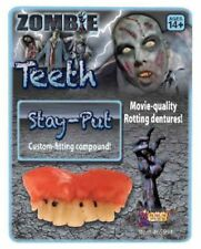 Zombie Rotted Teeth Halloween Costume Accessories Movie Quality Rotting Dentures