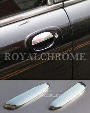 AU STOCK x2 ROYAL CHROME Doorhandle Cover Trims for JAGUAR XK X100 96-05 XK8 XKR