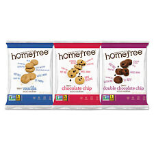 Homefree Gluten Free Mini Cookies Variety Pack 1.1 oz/0.95 oz/1.1 oz Packs 30