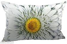 Kissen weiße Blume Dekokissen Zierkissen Landhaus Mars und More 50x35 cm 51108