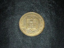 1998 MONOPOLY NFL OFFICIAL LIMITED COLLECTOR'S EDITION AFC NFC BRASS FLIP COIN