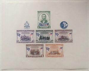 Honduras Scott #C330a Kennedy Overprint Sheet MNH A70
